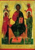 Deesis with St. Barbara and St. Parasceva (Friday)