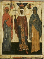 Selected saints: Paraskeva Pyatnitsa, Barbara, Juliana
