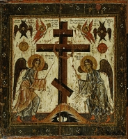Glorification of the Cross (reverse side)