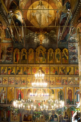 The Iconostasis Candlemas Monastery in Moscow. Photo by V.V.Chistyakov